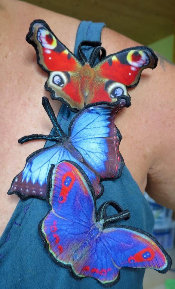 Schmetterlinge gibt es auch