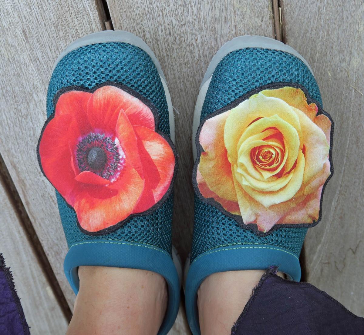 ...oder Schuhe...